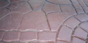 Concrete Metal Mold Print