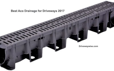 Aco drainage system – WARNING – Do not use if parking private jet
