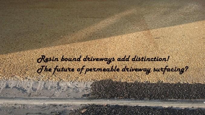 resin bound driveways