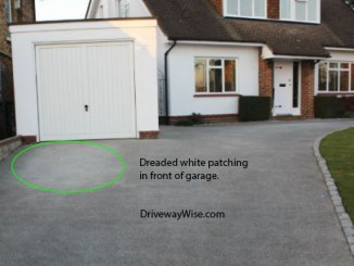 resin drive problems patching resin driveways