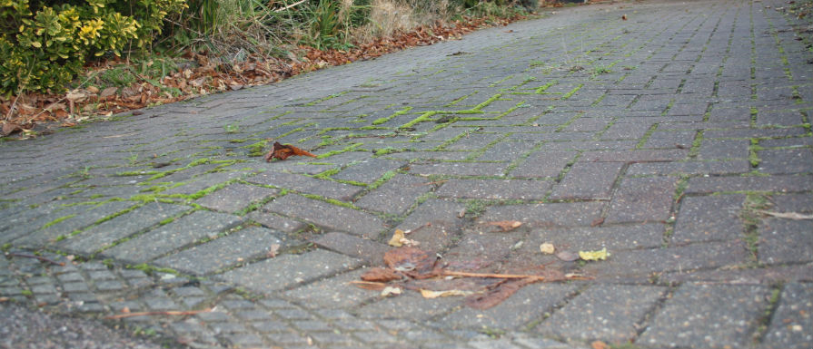 Why has my Block Paving Sank?