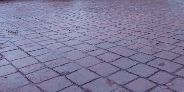 how long does a pattern imprinted concrete installation take