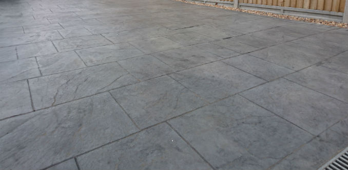 imprinted concrete driveways cost per square metre driveway wise