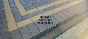 block paving channel drainage