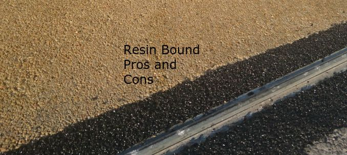 Resin Bound Driveways Pros And Cons Important Information