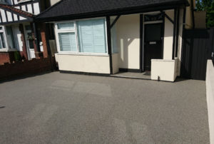 small resin driveway overlay