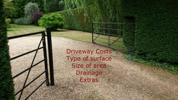 Driveways cost what you need to know driveway costs can be as small as a couple of thousand up to tens of thousands solutioingenieria Images