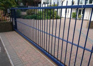 sliding electric gate