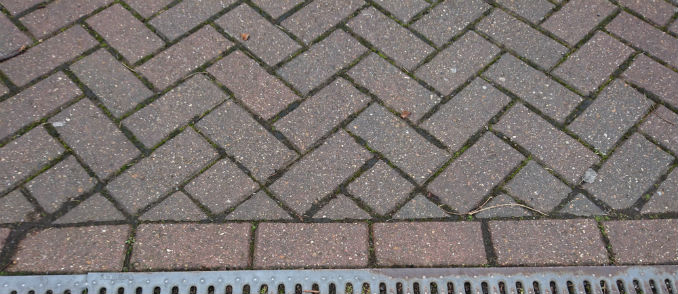 Herringbone Block Paving