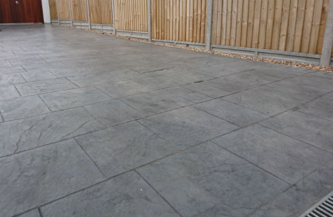 imprinted concrete driveway bournemouth