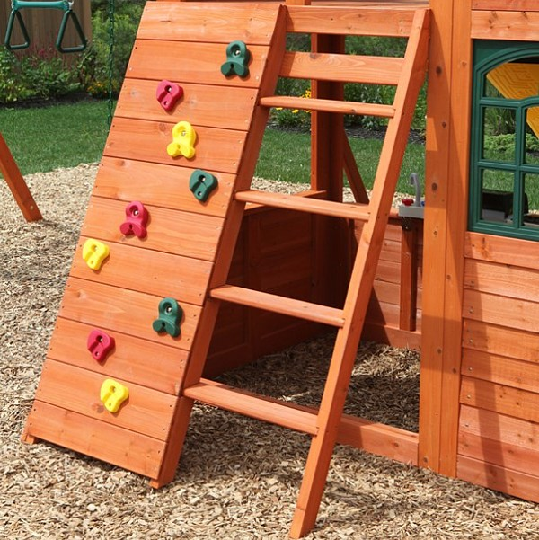 Kidkraft ladder canyon ridge play set
