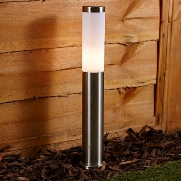 3 Biard LED Post Bollard Pedestal Garden Path Lights