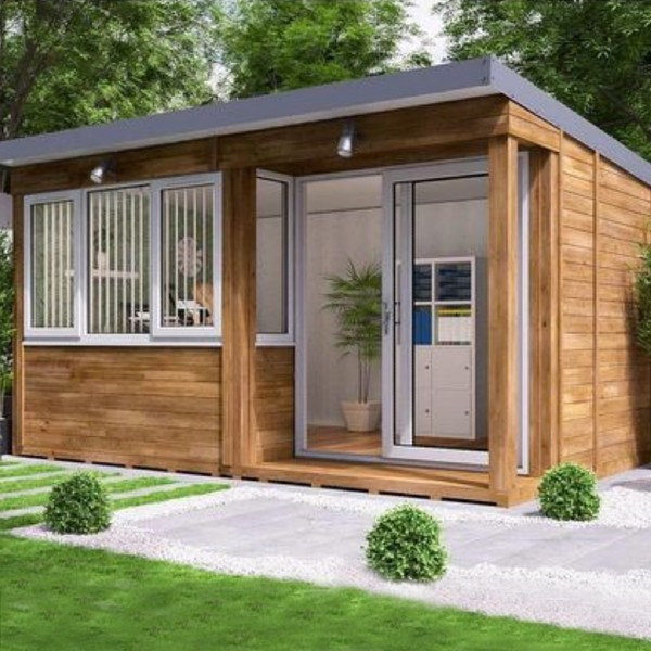 Garden Office Helena Right Insulated Home Office Studio Pod