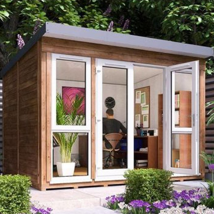 Garden Office Titania 3.5m x 2.5m - Insulated Studio Pod Home Office Study Room