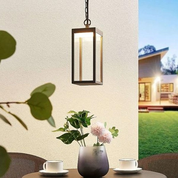 LED outdoor hanging light Cube