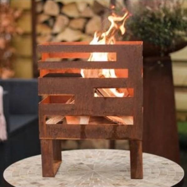 RedFire Fire Basket Madison Rust Stee