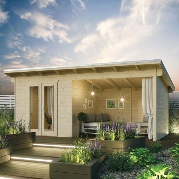 Rowlinson Garden Oasis Log Cabin