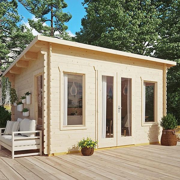 Rowlinson Garden Sanctuary Log Cabin