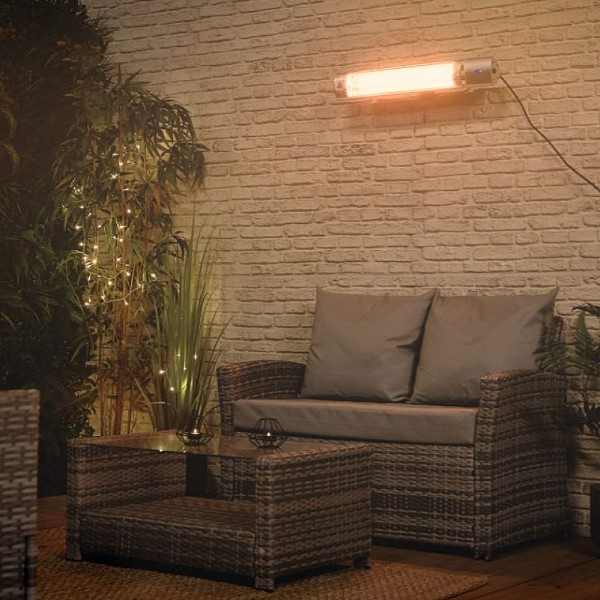 VonHaus Wall Mounted Infrared Patio Heater