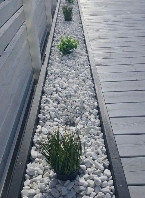 gravel edging driveway ideas