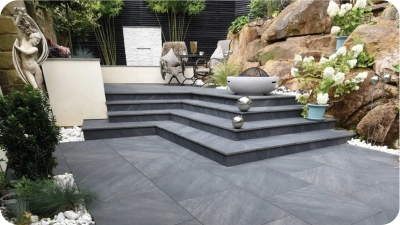 patio on levels ideas 2021