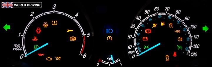 Ford Dashboard Warning Lights