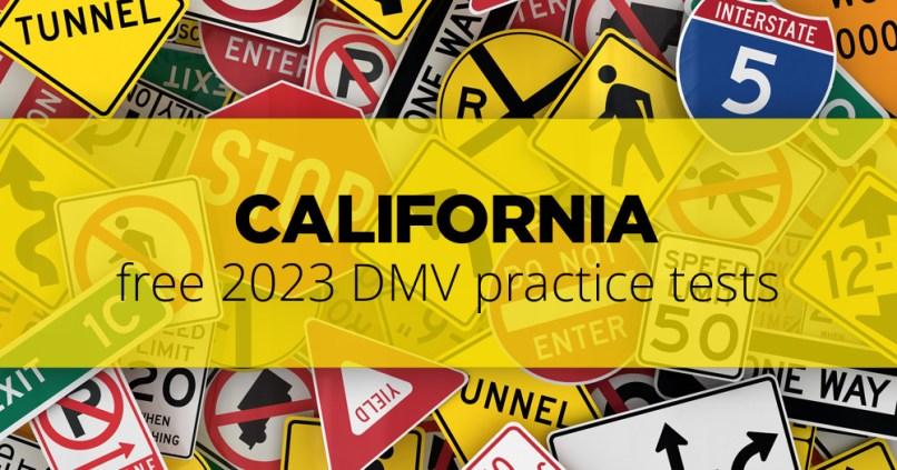Dmv Practice Test Free 2020