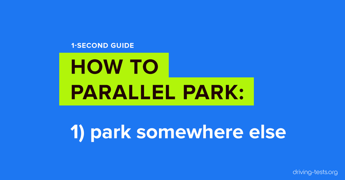 How to Parallel Park 10 Ridiculously Easy Parallel