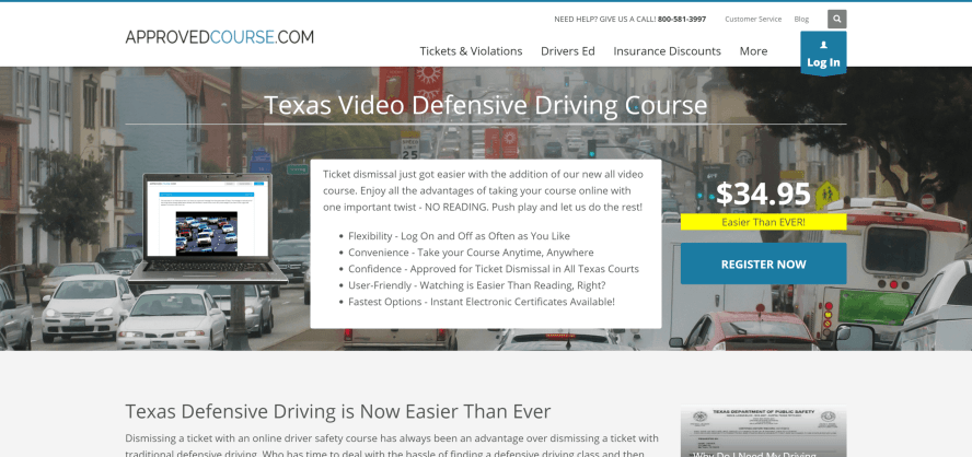 Approved Course Video Defensive Driving Texas