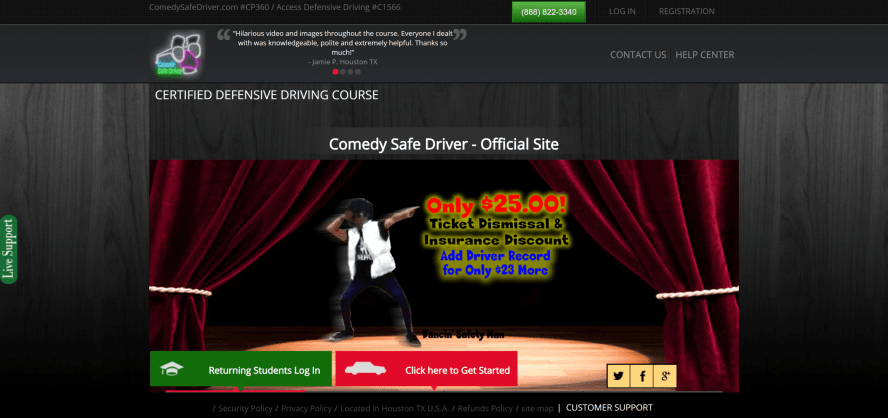 3D Defensive Driving / Comedy Safe Driver