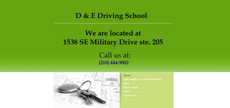 D&E Driving School