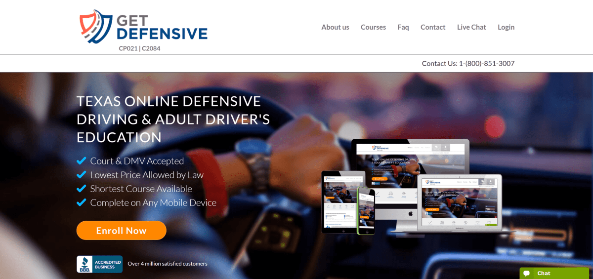 GetDefensive.com—Texas Defensive Driving Review
