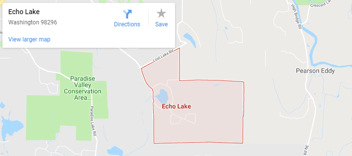 Maps of Echo Lake, mapquest, google, yahoo, driving directions