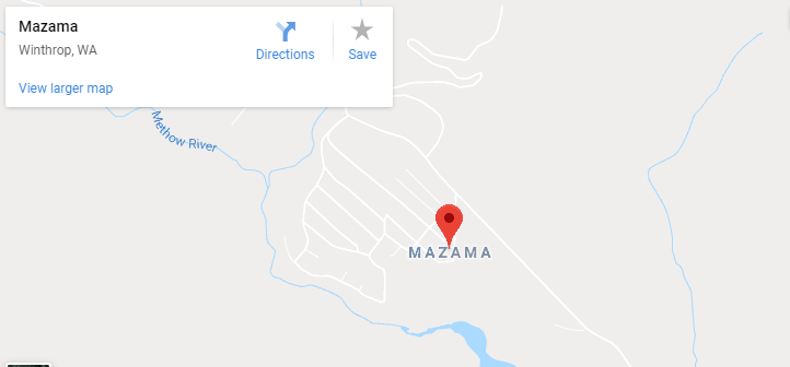Maps of Mazama, mapquest, google, yahoo, bing, driving directions