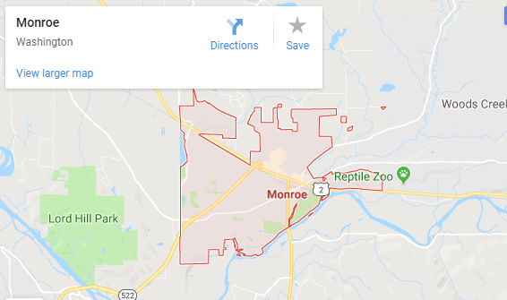Maps of Monroe, mapquest, google, yahoo, bing, driving directions