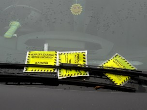 penalty charge notice, PCN, parking ticket, freelance courier, van driver, parcel delivery