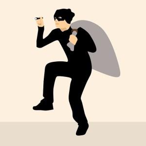 self-employed, freelance courier, parcel delivery, van driver, equipment, thief, robber, stolen, van