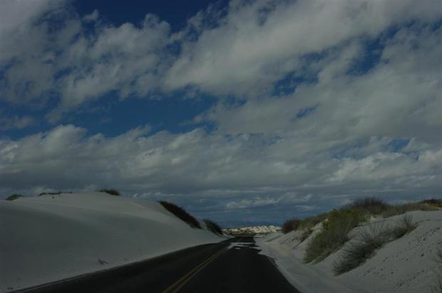 Sandy road