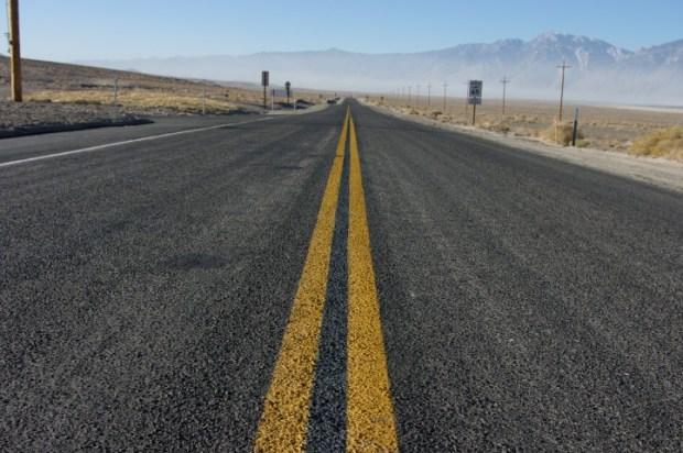 The road to LA.