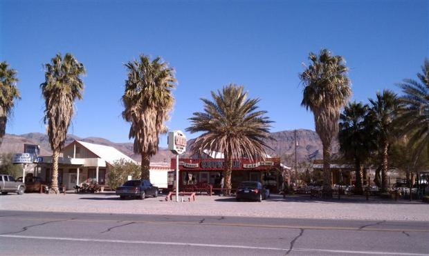 Crowbar Saloon in Shoshoe, CA. One of the worst bars in the world.