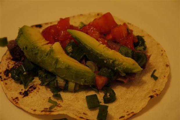 Thank you, farmers' market, for allowing us to make such tasty tacos.