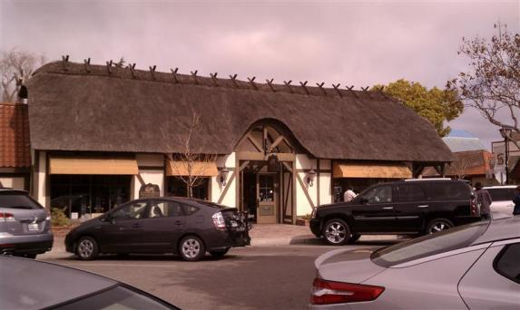 Thatched roof!