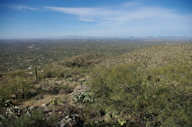 The next day was incredibly clear, offering the best views over Tucson.