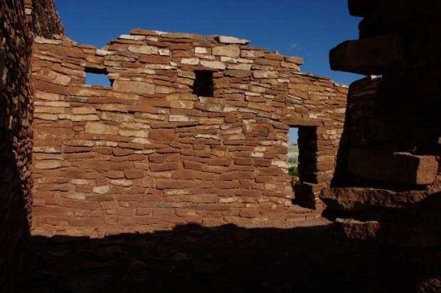 Ruins at Wupatki National Monument, near Flagstaff.