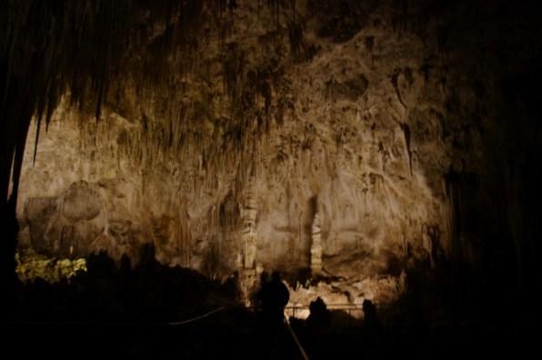 More stalactites.