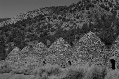 Charcoal kilns, Death Valley.