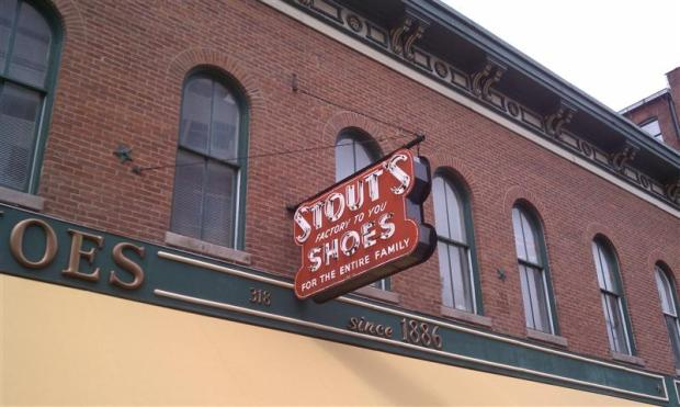 Oldest shoe store in America.