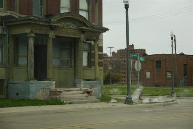 Empty neighborhoods.