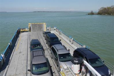 Ferry to South Bass Island.