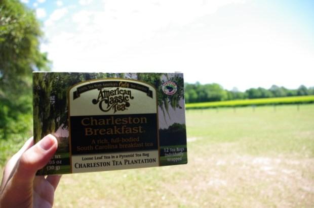 My box of Charleston Breakfast tea.